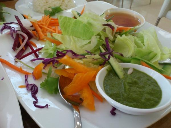 Half-eaten Rainbow Salad