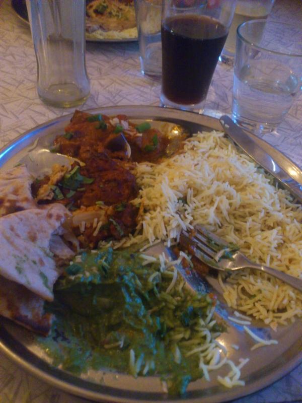 my thali dinner